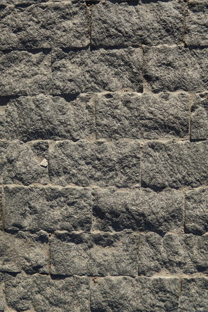 Close up image of gray paving slabs. Background.