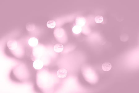 Lilac abstract background with blurred lights. Color of Spring and Summer 2019. Imagens