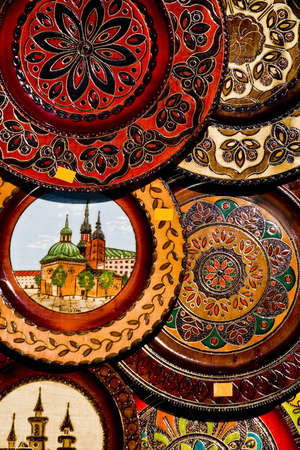 cracow: Colorful souvenirs from Cracow, Poland