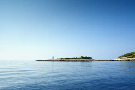 Beautiful sea landscape, taken in  Croatia, between Korcula and Przina bay Stock Photo - 13246600
