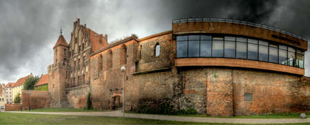 torun: Beautiful architecture of Torun city in Poland