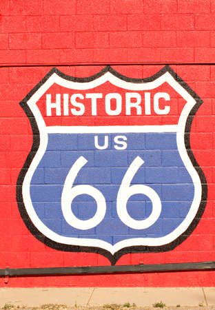 Historic route 66 California photo