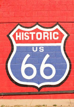 Historic route 66 California photo