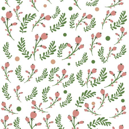 Seamless texture spring .Hand painting illustration for wallpaper, wrapping paper, textile, surface design.The elegant template for fashion prints. Modern floral background. Trendy Folk style. 向量圖像