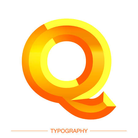 Vector 3D Sunshine letter bold style modern typography for decoration, logo, poster, t shirt, book, card, sale banner, printing on fabric, industrial