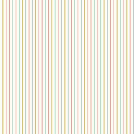 Seamless repeat of fine baby pastel stripes. A sweet vector geometric design background ideal for fabric, scrapbooking and home decor.