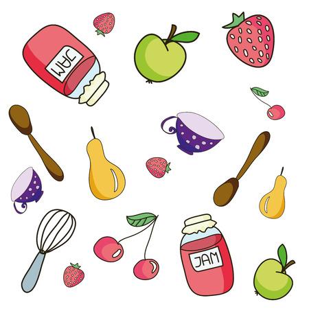 confiture: Jam in the jar