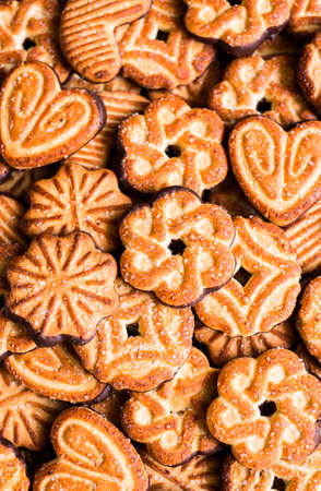Many cookies in assortment.