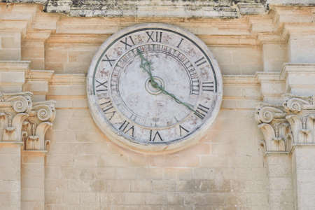 ancients: The ancients, big clock on old building