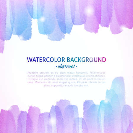 Watercolor Colorful Abstract Background. Watercolor art photoshop grain and grunge vintage colorful art bit mapped graphics. Graphic arts are a raster. Abstract shape for Business background presentation and advertising. photo