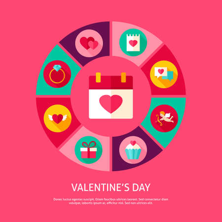 Valentines Day Concept Illustration