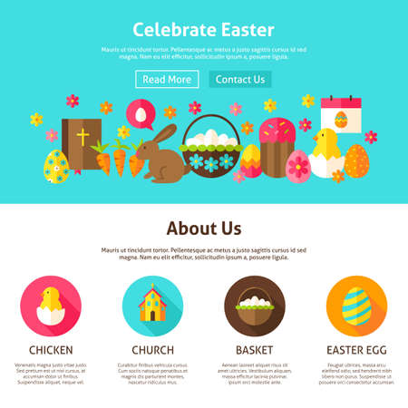 bible flower: Celebrate Easter Web Design