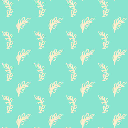 Natural Leaf Seamless Pattern
