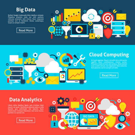 Big Data Horizontal Banners