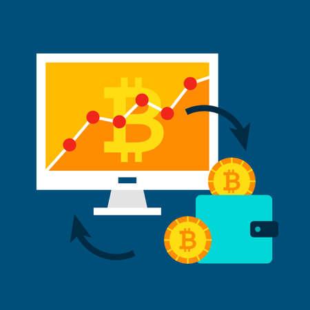 Bitcoin Rates Concept