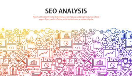 SEO Analysis Concept