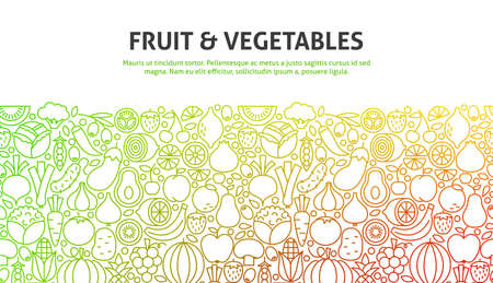 Fruit and Vegetables Concept