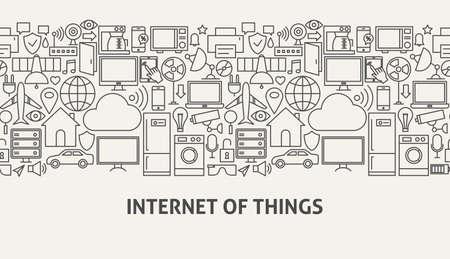 Iot Banner Concept Illustration