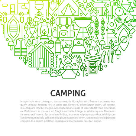 Camping Line Concept