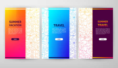 Summer Brochure Web Design