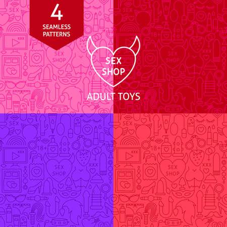 Line Sex Shop Patterns