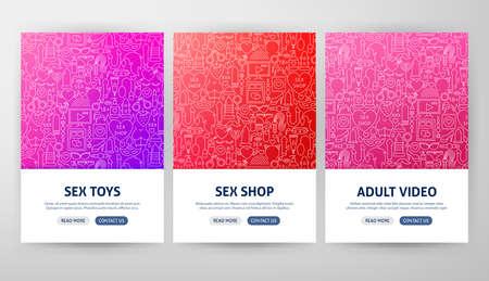 Sex Shop Flyer Concepts