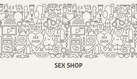Sex Shop Banner Concept