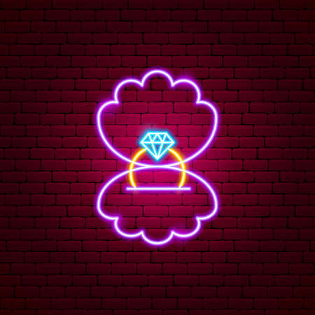 Proposal Ring Neon Sign