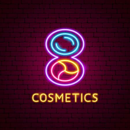 Cosmetics Neon Label