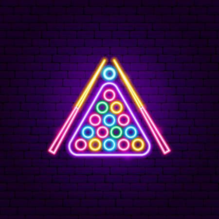 Pills Neon Sign. Vector Illustration of Sport Promotion.