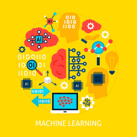 Machine Learning Flat Concept