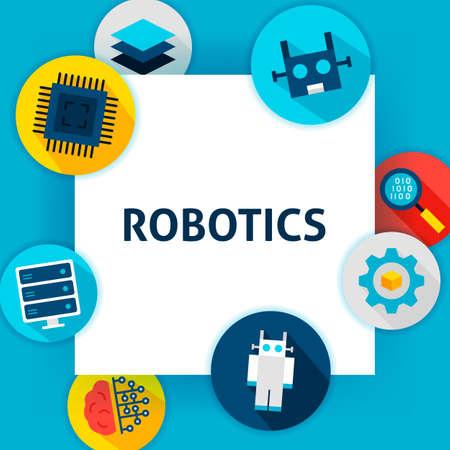 Robotics Tech Template 일러스트