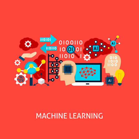Machine Learning Vector Concept