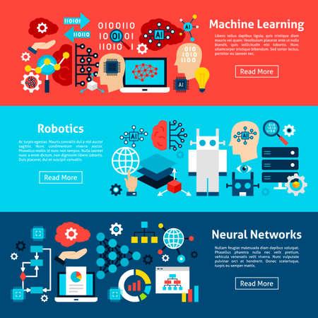 Machine Learning Horizontal Banners