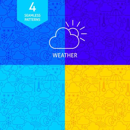 Line Weather Patterns Çizim