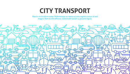 City Transport Concept Zdjęcie Seryjne - 138110637