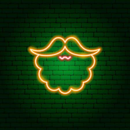 Red Beard Neon Sign