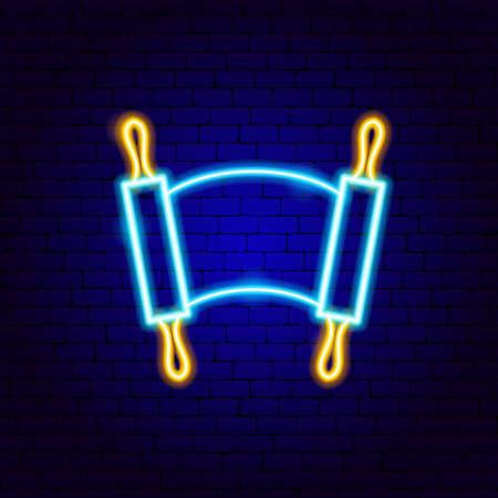 Jewish Torah Neon Sign