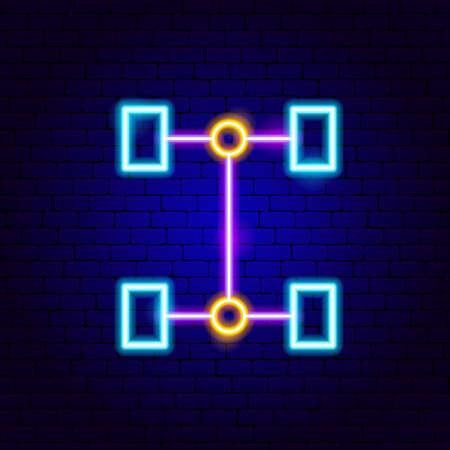 Transmission Neon Sign