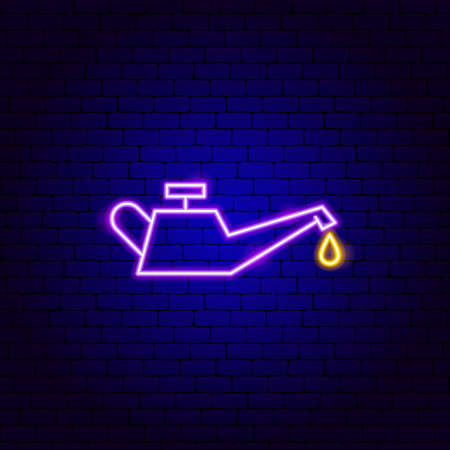 Oil Car Neon Sign