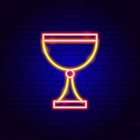 Goblet Neon Sign