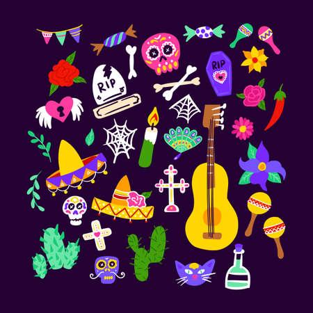 Dia De Los Muertos Set