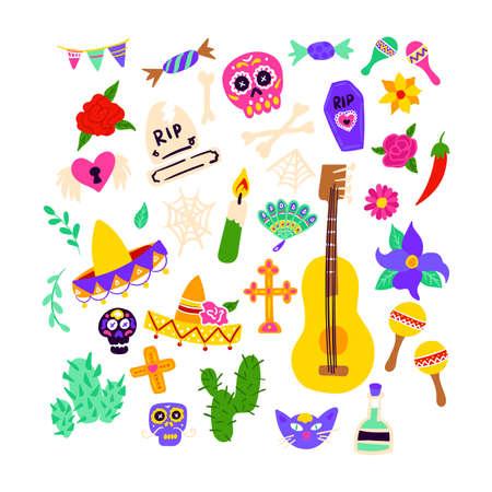 Dia De Los Muertos Objects