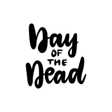 Day of the Dead Handwritten Lettering