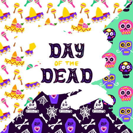 Day of Dead Lettering Concept