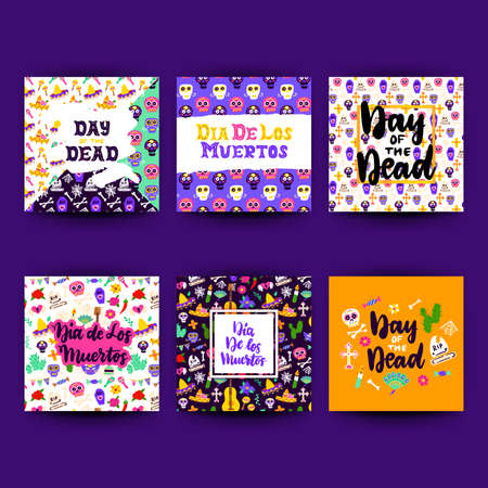 Day Of Dead Greeting Postcards