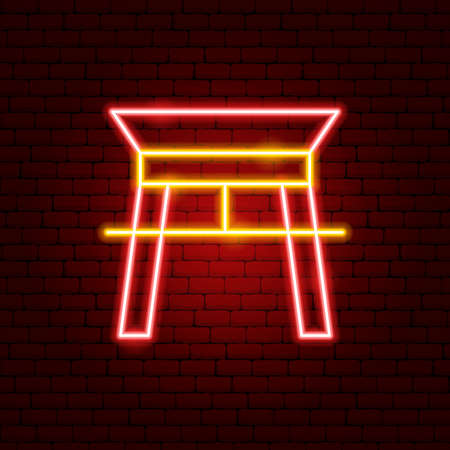 Chinese Arc Neon Sign