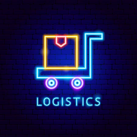 Logistics Neon Label