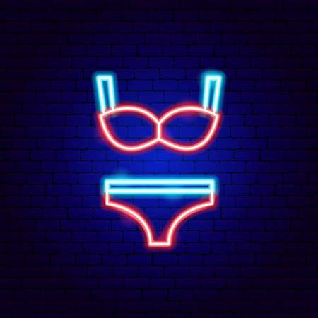 Underwear Neon Sign