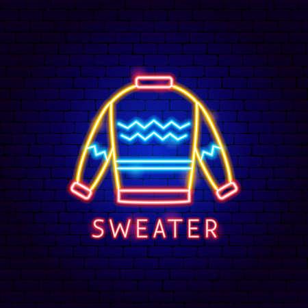Sweater Neon Label